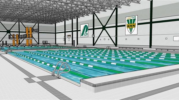 Cure de jeunesse pour la seule piscine olympique de la for Piscine olympique