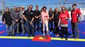 Inauguration de la surface de hockey de terrain Thermoform  pour le plaisir des amatrices et amateurs