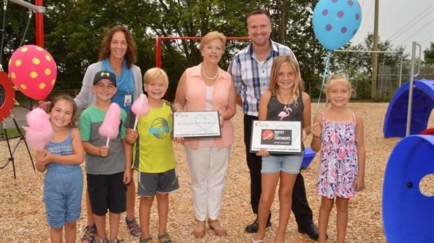 Inauguration dun nouveau centre de la petite enfance