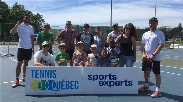 La Tournée Sports Experts de Tennis Québec bat son plein